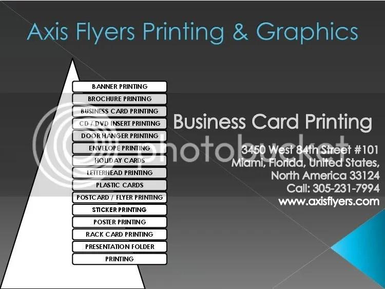 business cards printing miami