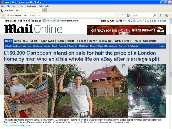 click to see Daily Mail article