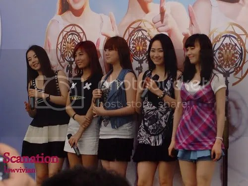 Wonder Girls Meet and Greet at Plaza Singapura