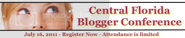Central Florida Bloggers Conference Banner