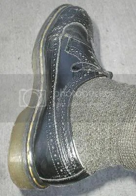 What office worker could survive without a pair of black shoes.  These are Doctor Martins wing tipped...very comfortable