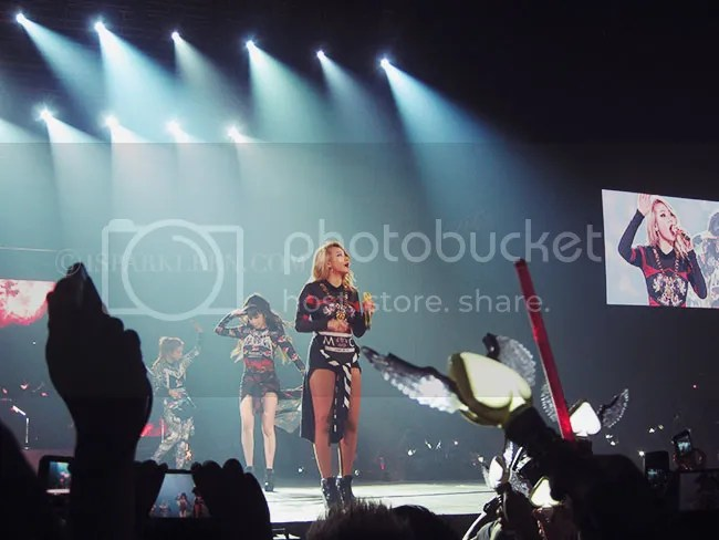2NE1 All Or Nothing Live in Manila concert Mall of Asia Arena