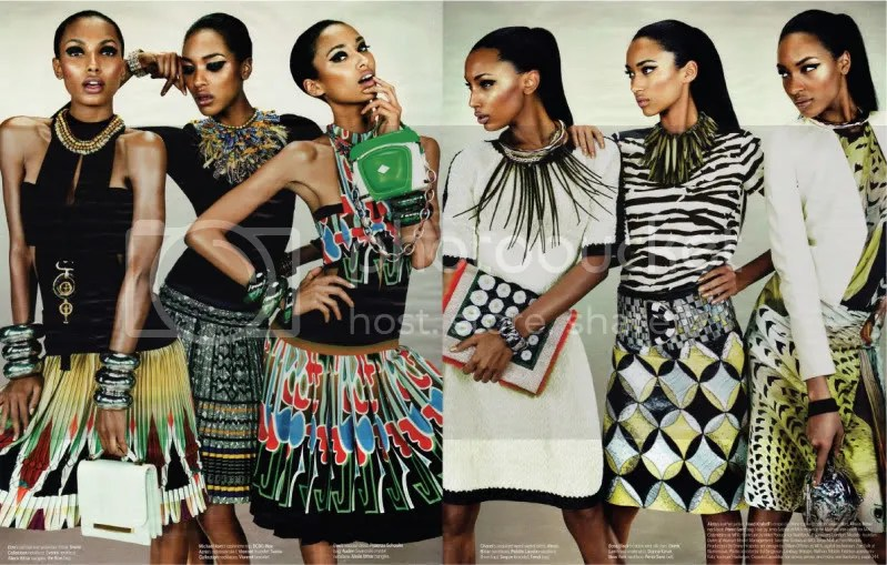 W Magazine March 2012 - Feminine Mystique @ Street Stylista