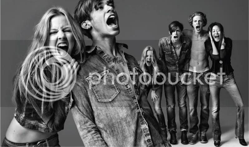 Hilfiger Denim Fall/Winter 2010 Ad Campaign - Get Loud