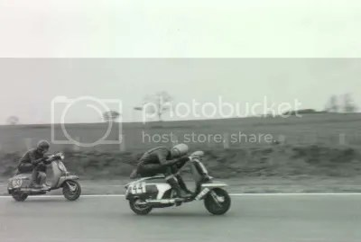 lambretta scooter racing