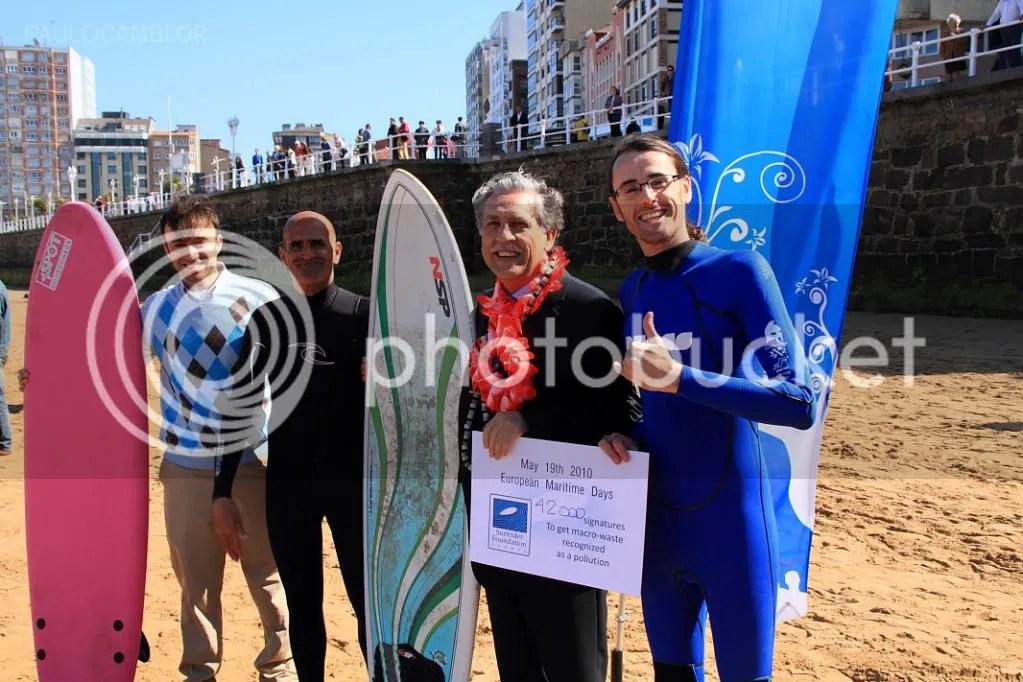 Diego Lopez Garrido y Surfrider Foundation