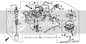 recon 250 carb problem  Honda Foreman Forums : Rubicon