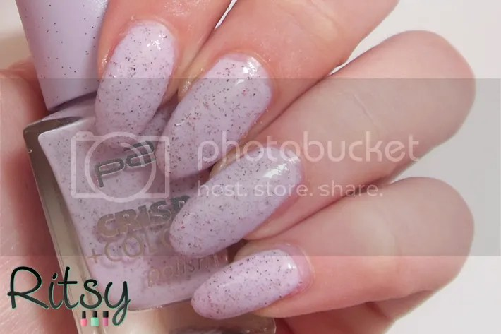 P2 Violet Glace with top coat
