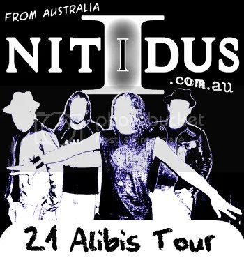 21 Alibis Tour poster