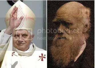 Pope and Darwin