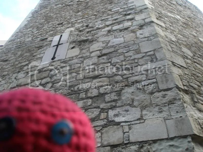 Otto by another tower.