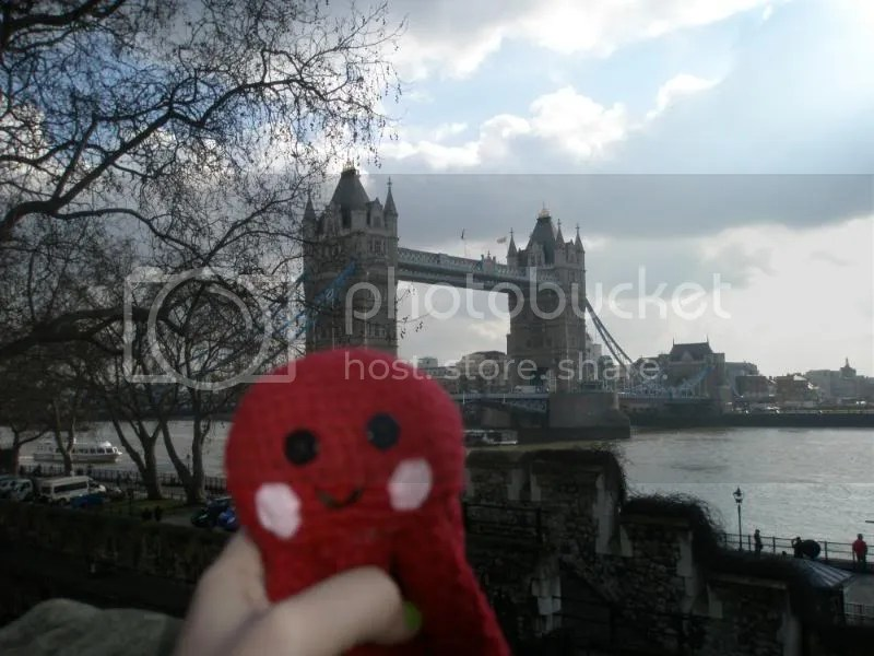 Otto and the Tower Bridge.