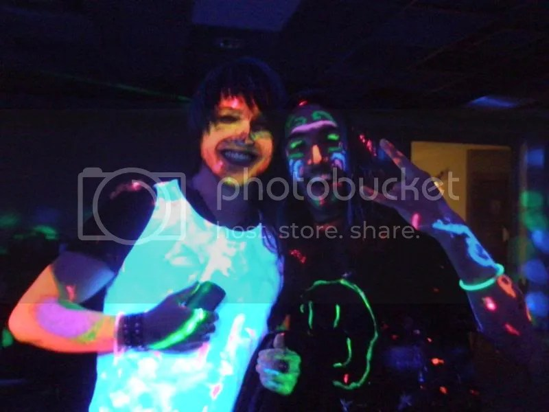 Andrew and Conor at the UV Party.