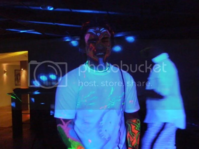 Devin at the UV Party.