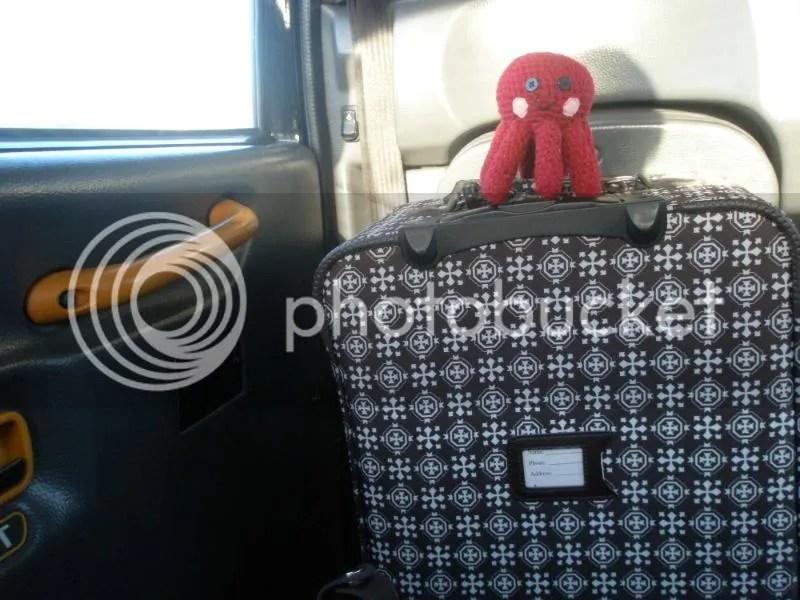 Otto in the black cab.
