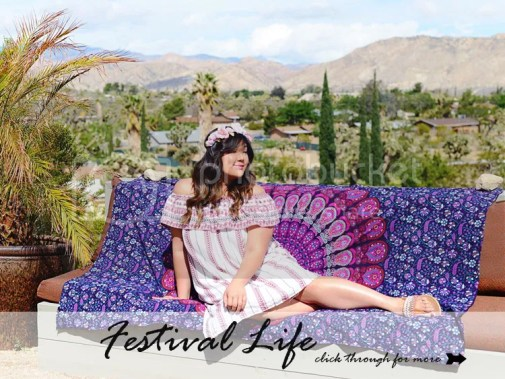 Curvy Girl Chic Plus Size Fashion Blog Coachella Festival Fashion Lookbook