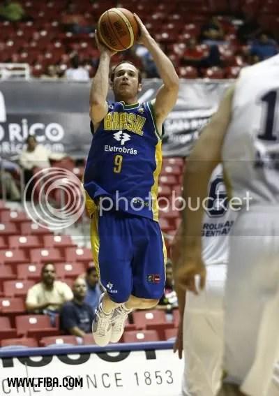 Huertas fez bela partida contra a Argentina. Divulgação/FIBA Américas