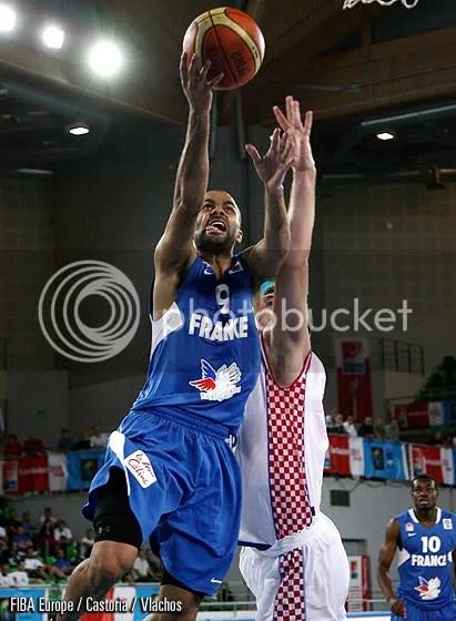 Parker é o vice-líder em médias de pontos no EuroBasket 2009 (Foto por FIBA Europe/Castoria/Vlachos)