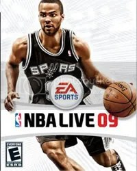 Capa do novo NBA Live 2009 com Tony Parker