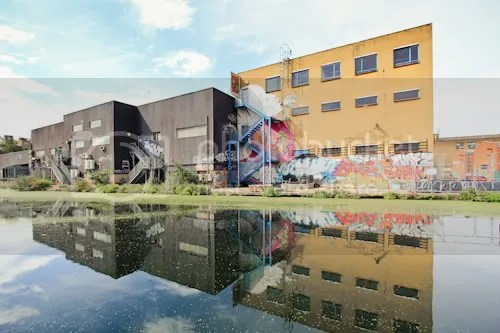 Hackney Wick Canal Graffiti 9