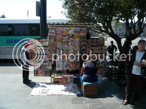 Mexico Street Stall 6
