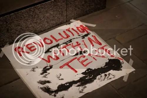Occupy St Paul's London Camp 11