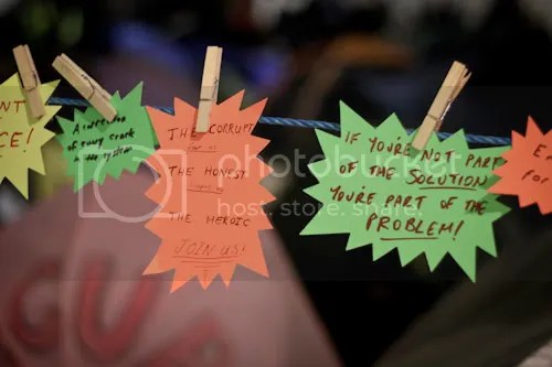 Occupy St Paul's London Camp 14