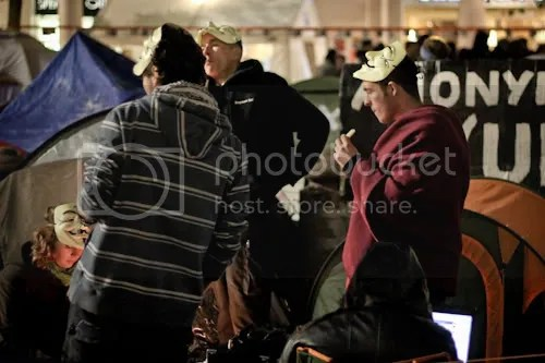 Occupy St Paul's London Camp 17