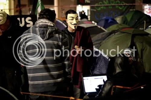 Occupy St Paul's London Camp 19