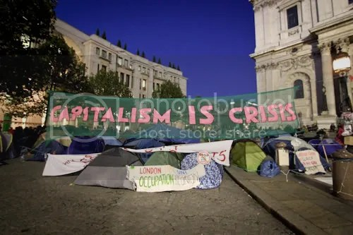 Occupy St Paul's London Camp 6