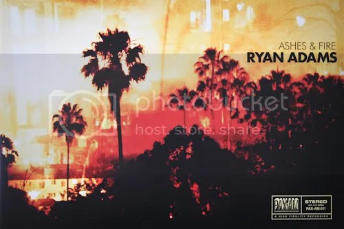Ryan Adams Ashes & Fire Deluxe Vinyl Limited Edition 1