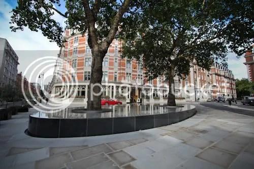 Tadao Ando Silence Fountain Connaught London 2