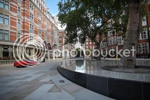 Tadao Ando Silence Fountain Connaught London 3