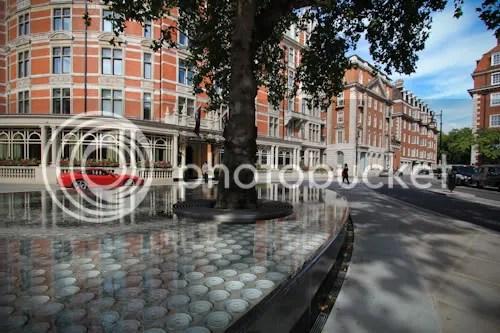 Tadao Ando Silence Fountain Connaught London 8