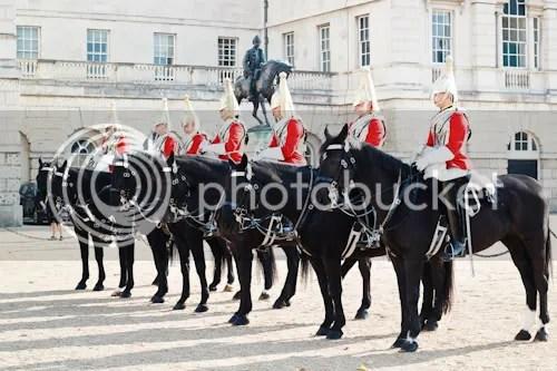Family Visit London Horse Guards 1