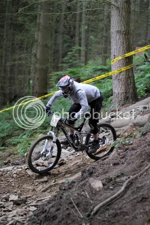 Hopton Castle Downhill Mountain Bike Mikey 1