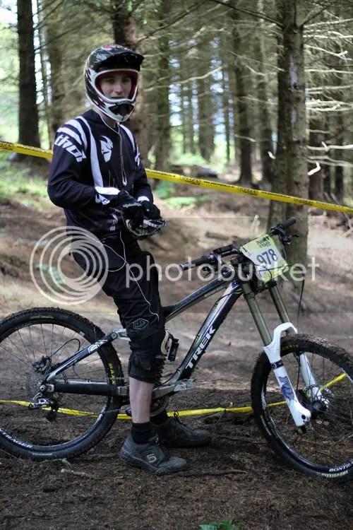 Hopton Castle Downhill Mountain Bike Mikey 8