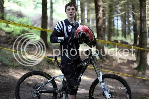 Hopton Castle Downhill Mountain Bike Mikey 9