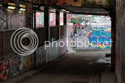 Leake Street Waterloo January 3
