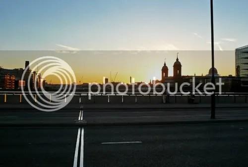 london sunset 1