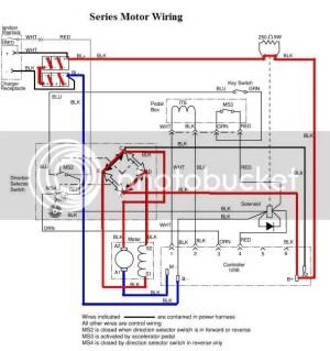 Wiring problem 2002 ezgo
