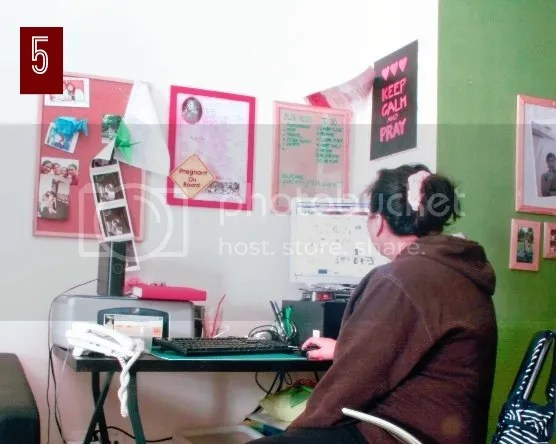 study/work area