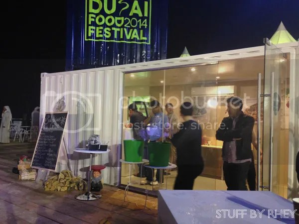 Saladicious Pop up Beach Canteen Dubai Food Festival Kite Beach