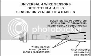 99 CX primary o2 sensor wiring  HondaTech  Honda Forum