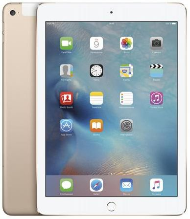 Apple Apple iPad Air 2 16Gb Wi-Fi + Cellular (золотистый)