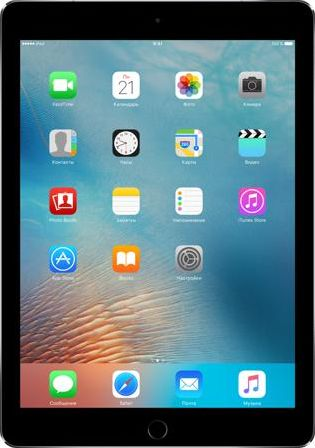 Apple Apple iPad Pro 9.7 Wi-Fi + Cellular 256GB MLQ62RU/A (9.7&ampquot/2048x1536/WIFI/iOS 9)