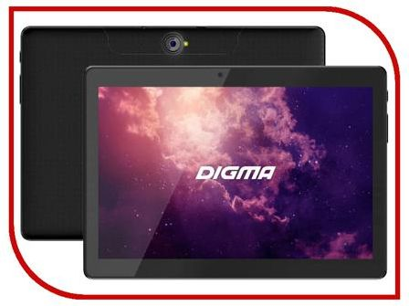 Планшет Digma Plane 1601 3G Black PS1060MG (MediaTek MTK8321 1.3 GHz/1024Mb/8Gb/GPS/Wi-Fi/Bluetooth/Cam/10.1/1280x800/Android)