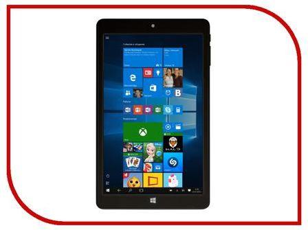 Планшет BB-mobile Techno W8.0 3G Q800AY Black (Intel Atom Z3735F 1.33 GHz/2048Mb/32Gb/GPS/3G/Wi-Fi/Bluetooth/Cam/8.0/1280x800/Windows 10)
