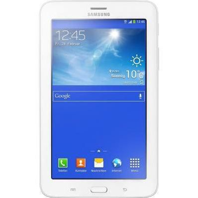 Планшетный ПК Samsung GALAXY Tab 3 lite SM-T116 3G 8GB кремовый белый (SM-T116NDWASER)
