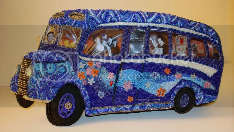 The Doors Blue bus